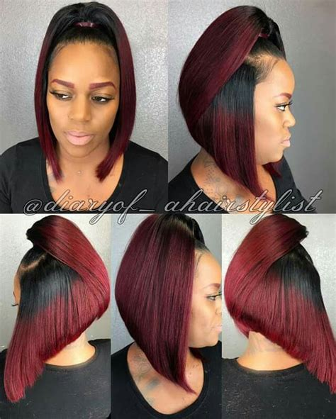 different length ponytails bobs pin by african american hairstyles on natural hair style