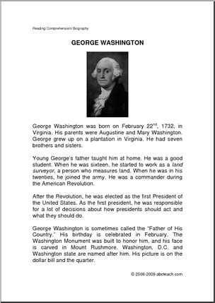 george washington biography for students biography u s president george washington elem a