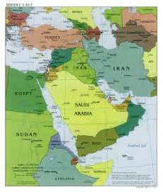 Western Asia Map by Map Of West Asia
