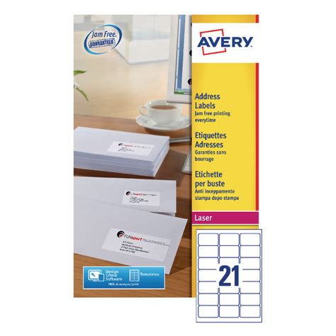 template for avery labels l7160 avery quickpeel l7160 40 laser address labels pack of 840
