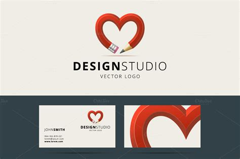 design studio logo logo templates on creative market