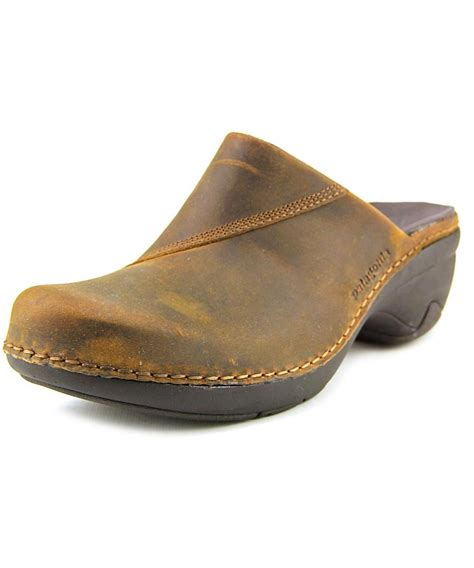 brown clogs for patagonia better clog slide toe leather brown