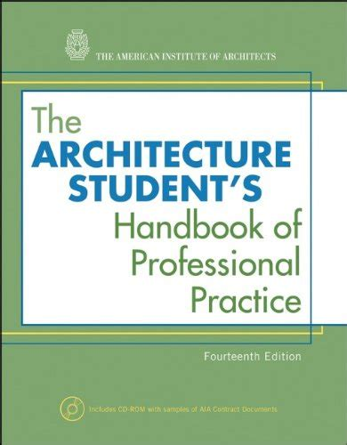the architecture student s handbook of professional