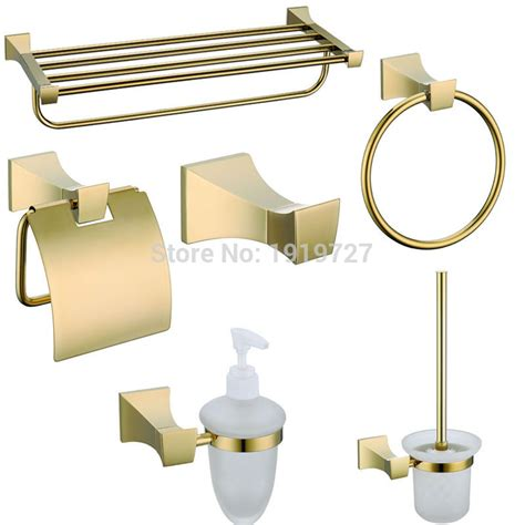 Gold Bathroom Accessories Get Cheap Gold Bath Accessories Aliexpress Alibaba