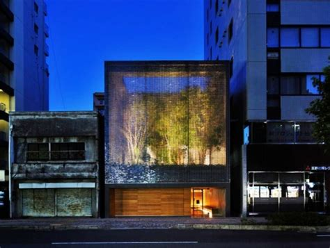 optic house gorgeous optical glass house in hirochima is made from 6000 glass bricks inhabitat green