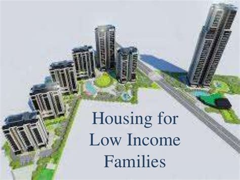 help for low income families to buy a house housing for low income families