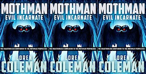 mothman evil incarnate books cryptozoonews posts by loren coleman