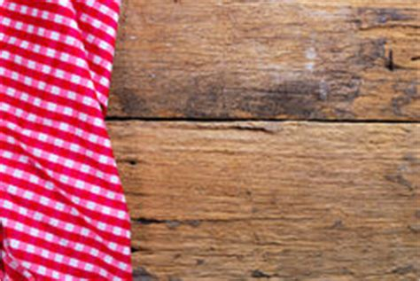 picnic tablecloth wooden table top view stock photos