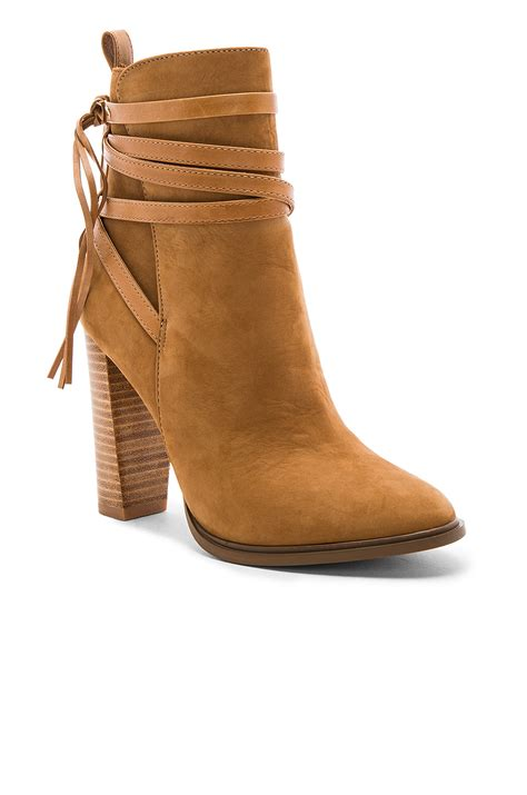 Steve Madden Wrapped Boot by Lyst Steve Madden Gaybel Suede Boots