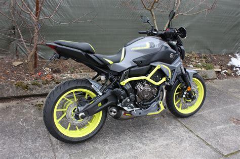 Yamaha Motorrad Umbauten by Umgebautes Motorrad Yamaha Mt 07 Von Zweirad Mildner