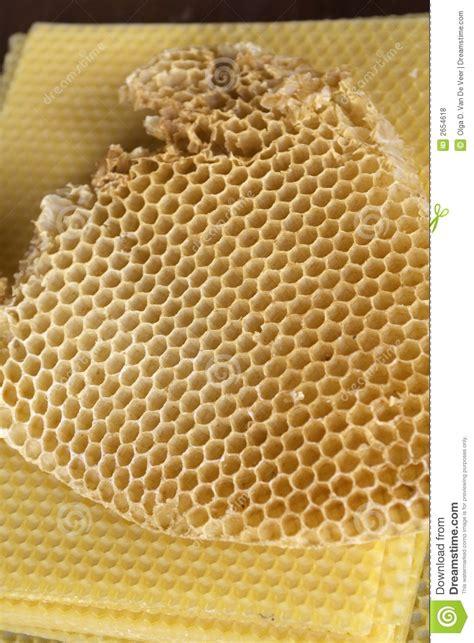 como hacer un panal de abejas panal de la cera de abejas fotos de archivo libres de