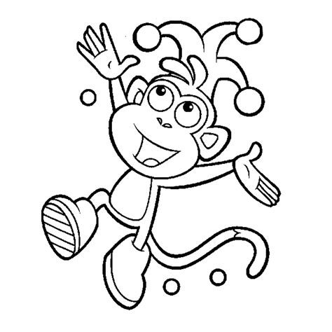 dora coloring pages download boots of dora printable coloring pages cartoon 5438