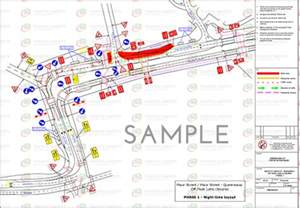 Site Traffic Management Plan Template by Traffic Safety And Management Limited Services