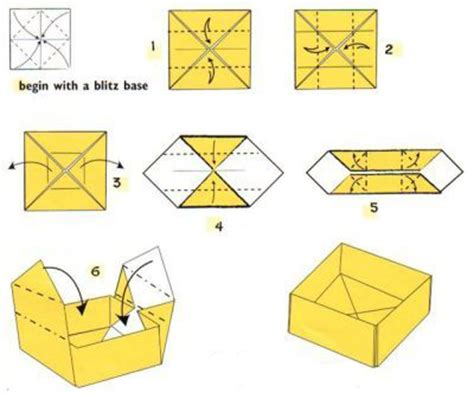 How To Make A Paper Spitfire - spitfire diy origami gift box spitfire