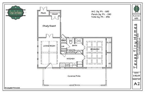 House Plans With Guest Suite by Plan 652 Is Tiny Homes Ultimate Backyard In