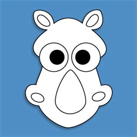 printable moose mask mask templates for all sorts of animals a z arts