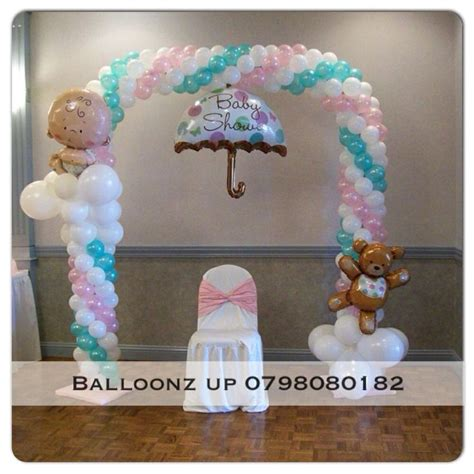 Baby Shower Balloon Arch by Baby Shower Balloon Arch Baby