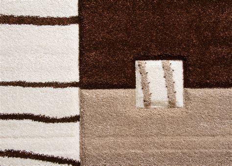 teppich orange grau designer teppich modern ancona felder muster rot orange