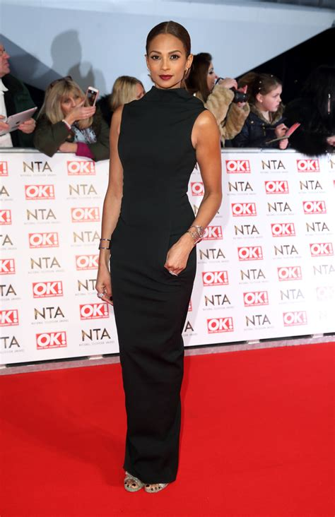 alesha dixon attends the 2015 national television awards