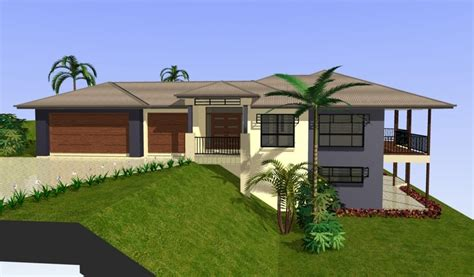 sloping house plans sloping block home designs gold coast unique homes