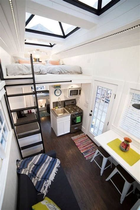 cute interior design for small houses this tiny house on wheels takes inspiration from beach houses