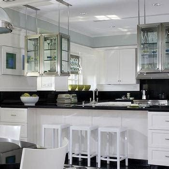 kitchen hanging cabinet see through hanging cabinets design ideas
