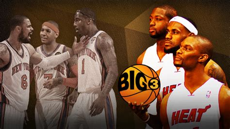 Mba Big 3 by Nba Defining And Analyzing The Big 3 Model Among Nba Rosters