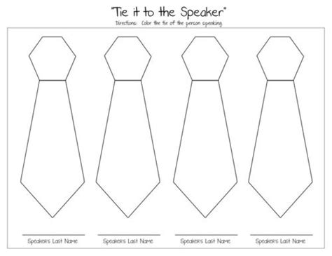 conference coloring pages lds general conference quot tie it to the speaker quot coloring page