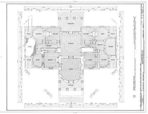 floor plan of monticello monticello ground floor plan house plans pinterest