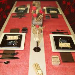 d 233 coration de table ivoire et chocolat