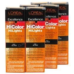 loreal hicolor color chart pack of 6 loreal excellence hicolor hilights creme