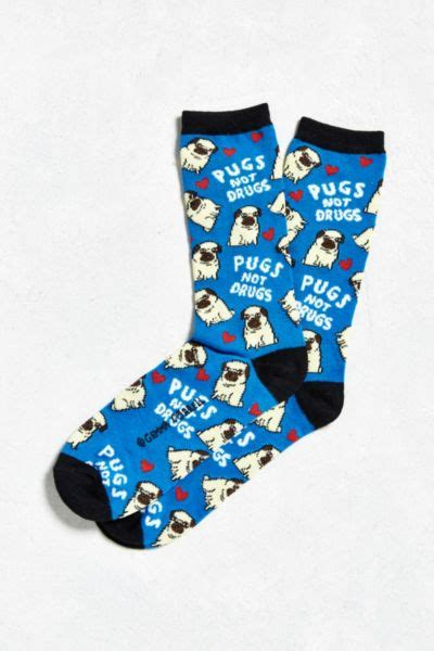 pugs not drugs bag pugs not drugs sock outfitters