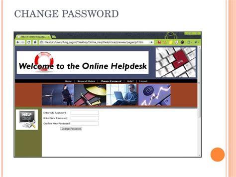 nycdoe help desk online online help desk ppt