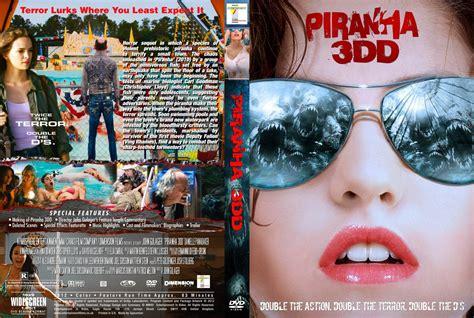 Dvd Piranha 3dd piranha 3dd dvd custom covers piranha 3dd