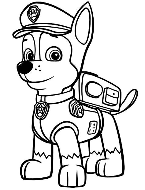 paw patrol coloring pages new pup paw patrol pup free coloring page animals kids paw