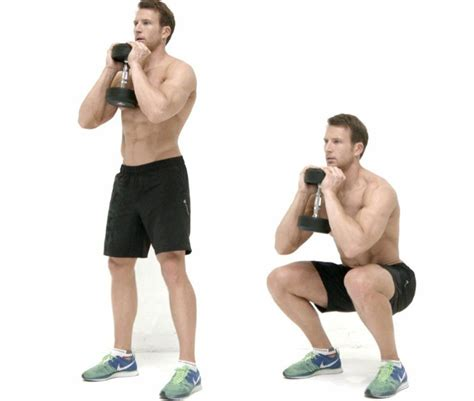 dumbbell bench squat 7 best exercises to lose weight at home easily