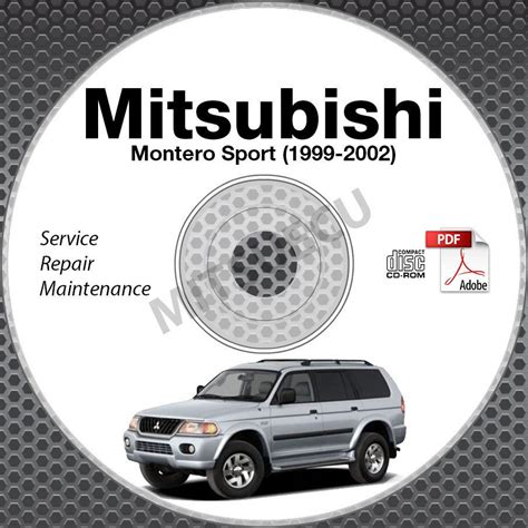 download car manuals 2001 mitsubishi montero sport engine control 1999 2002 mitsubishi montero sport service repair manual cd free bonus