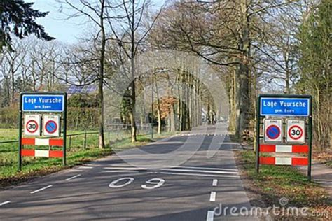 entrance of the royal village lage vuursche baarn