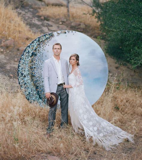 Wedding Backdrop Moon by Diy Moon Backdrop Green Wedding Shoes Weddings