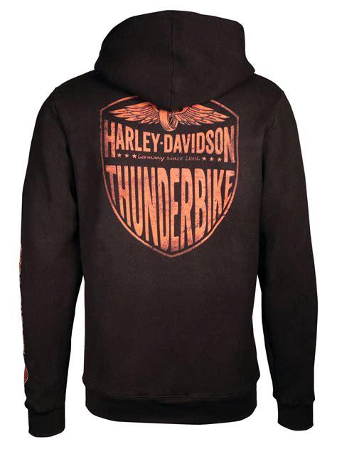 Sweaterhoodiezipper Harley Davidson harley davidson zip hoodie last mile im thunderbike shop