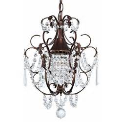 Oil Rubbed Bronze Chandelier With Shades Crystal Mini Chandelier Pendant Light In Bronze Finish