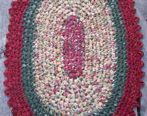crochet oval rag rugs pattern instant