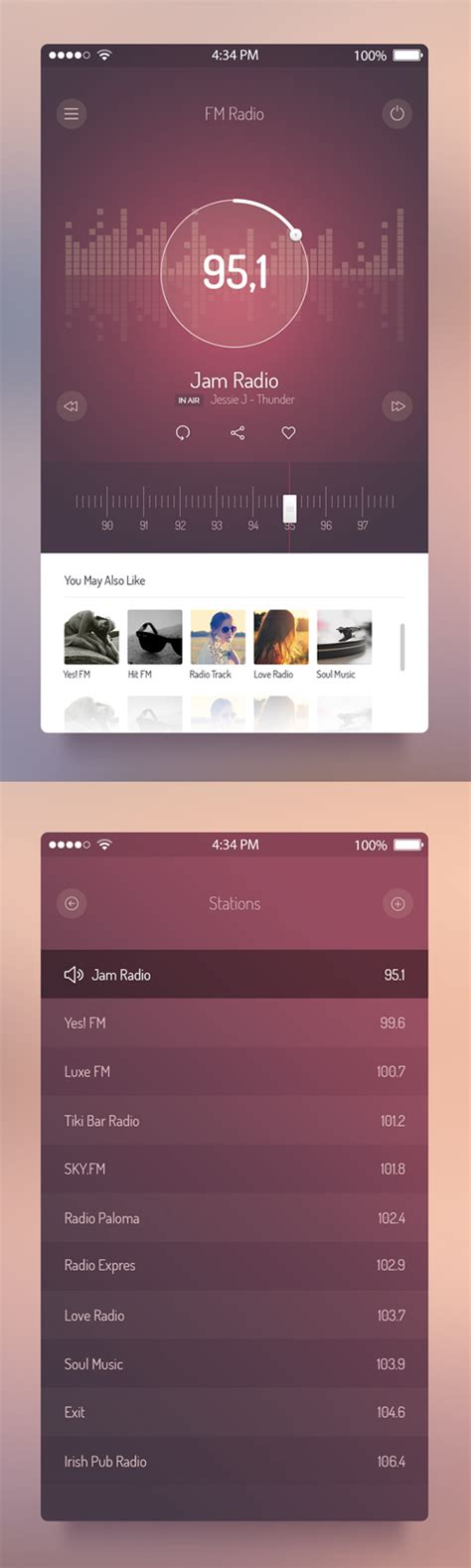 design mobile app ui 50 mobile app ui design for inspiration inspiration