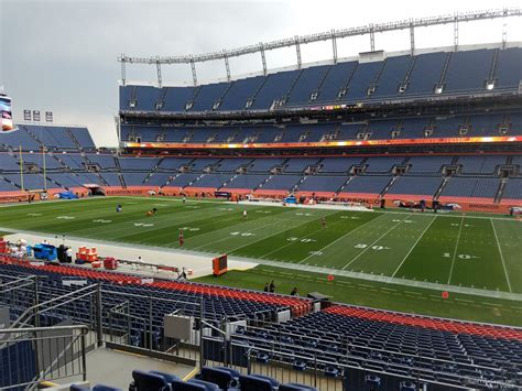 sports authority field sections sports authority field section 120 rateyourseats com