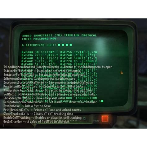 fallout console commands what does this command do an explanation of fallout 3