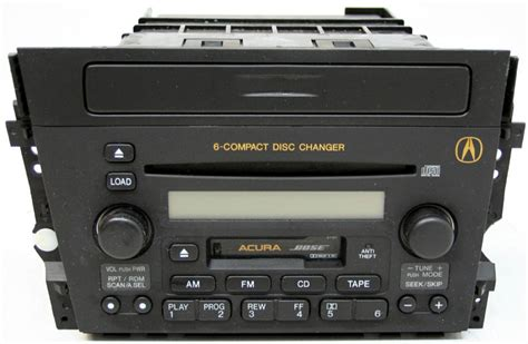 acura tl 2002 2003 factory bose stereo 6 disc