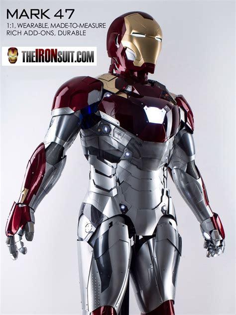 wearable iron man suit mark xlvii ironsuit
