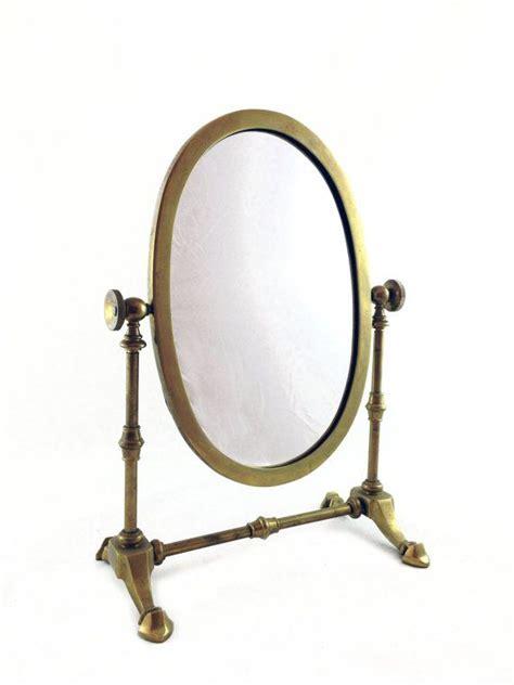 vintage table top mirror antique brass mirror table top vanity mirror