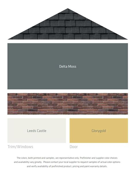 Which Benjamin White To Match Vinyl Windows - fresh color palettes for a gray or black roof