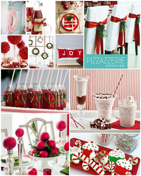peppermint christmas red white party ideas party ideas